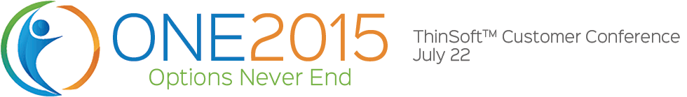 ONE2015 Customer Conference, July 22